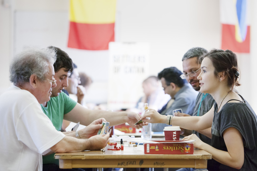 Settlers of Catan at the 2012 Mind Sports Olympiad